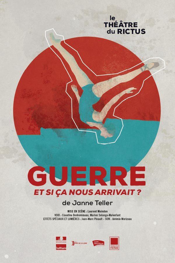 Affiche du spectacle GUERRE - Janne Teller / théâtre du Rictus