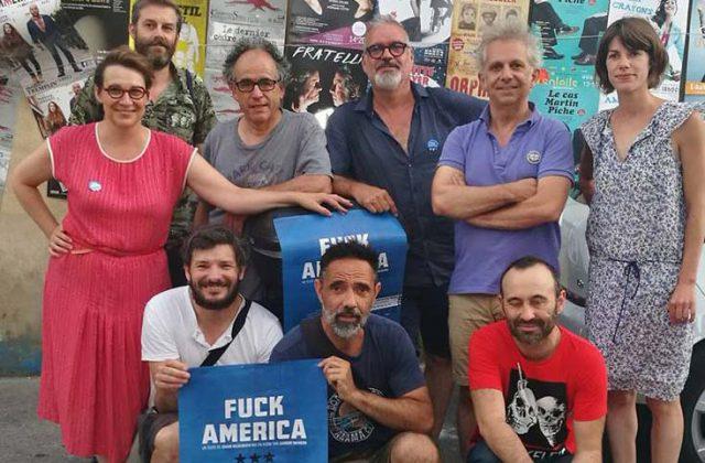 Fuck America en Avignon