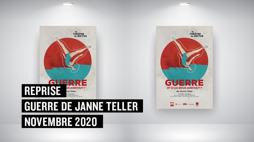 Guerre de Janne Teller – Reprise en novembre 2020